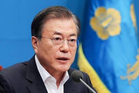韓国の文在寅 (ムン・ジェイン)大統領