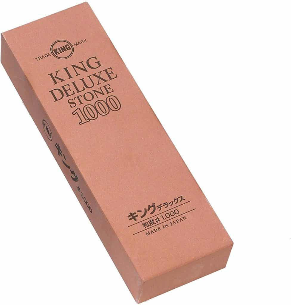 キングデラックス 研ぎ器 高級刃物用砥石 標準型 #1000 中仕上用 No.1000