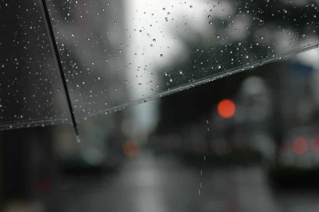 雨 rain