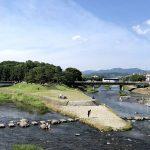 初夏の鴨川デルタ