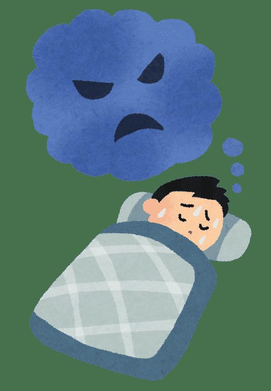 悪夢のイラスト