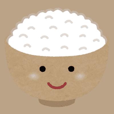 ご飯のキャラクター