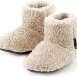 ミコラ正規品 【2020冬 北欧 あったか もこもこルームシューズ 【XLサイズ ~28.0cm】M,L,XXLサイズもあります 寒い台所でもホカホカ暖かい 足首まですっぽり 冬用 防寒 ボアブーツ スリッパ【アイボリー】